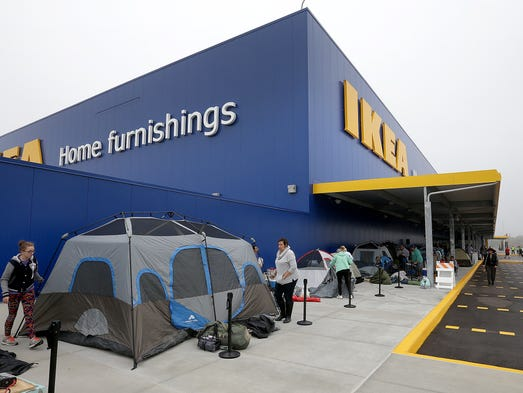 Fishers ikea grand opening live updates for Ikea greenville sc