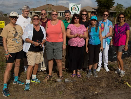 Members and supporters of the Cape Coral Friends of