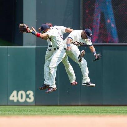 May 27: Minnesota Twins right fielder Torii Hunter
