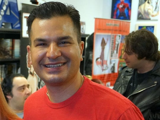 Peter Pappas used to work in the restaurant business in New Jersey before moving to the Space Coast to open his comic book shop, Viera Comics.