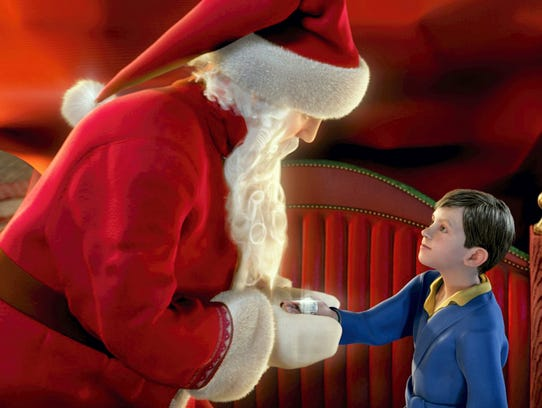 THE POLAR EXPRESS™4-D Experience is based on the inspiring