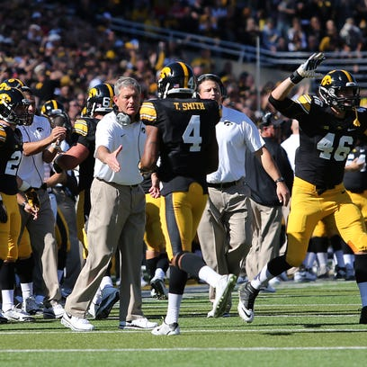 Iowa coach Kirk Ferentz and the Hawkeyes are hoping