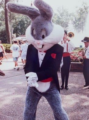 1993: Bugs Bunny dances at Great Adventure