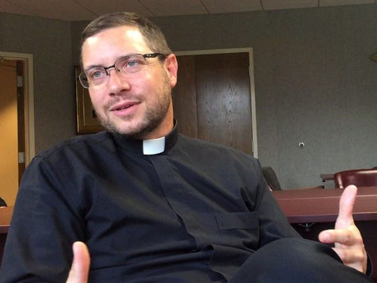 Fr. Jon Schnobrich, Vocations Director with the Roman