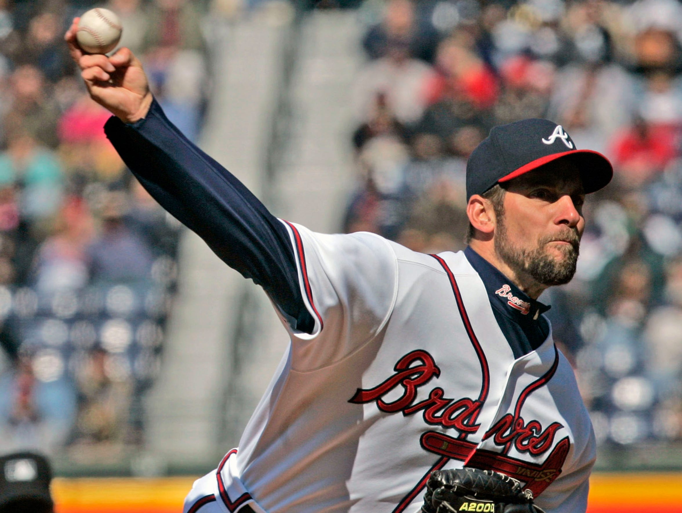 John Smoltz was elected to the Baseball Hall of Fame