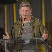 Neil Young attends The Pensado Awards at Fairmont Miramar Hotel on June 28, 2014 in Santa Monica, California.