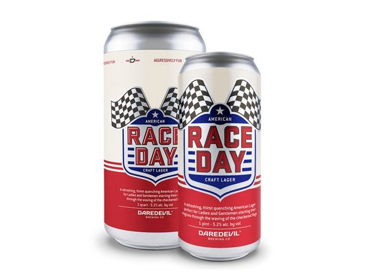 Daredevil Brewing Co's Race Day American craft lager