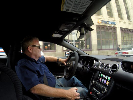 Detroit Free Press auto critic Mark Phelan drives a
