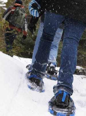Winter is a great time to try new fitness activities like snowshoeing, skiing or fat-tire bike riding.