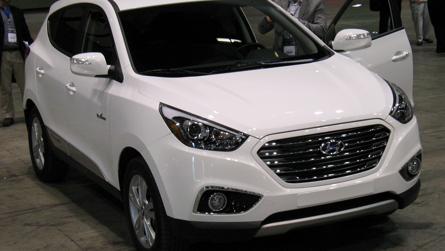 2015 Hyundai Tucson Fuel Cell Crossover Provides Compact