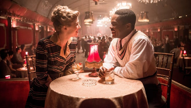 """Love comes quickly for Ruth (Rosamund Pike) an Seretse (David Oyelowo) in """"A United Kingdom."""""""