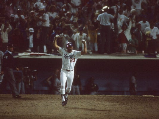 Los Angeles Dodgers vs Oakland Athletics, 1988 World Series