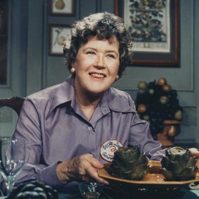 """Julia Child, the late author of """"Mastering the Art"""