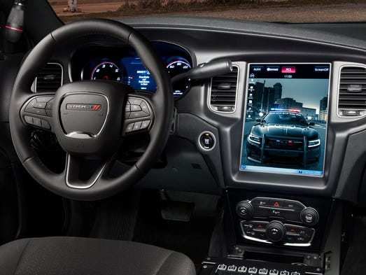 Dodge Puts Tesla Like Touchscreen In Charger Police Car