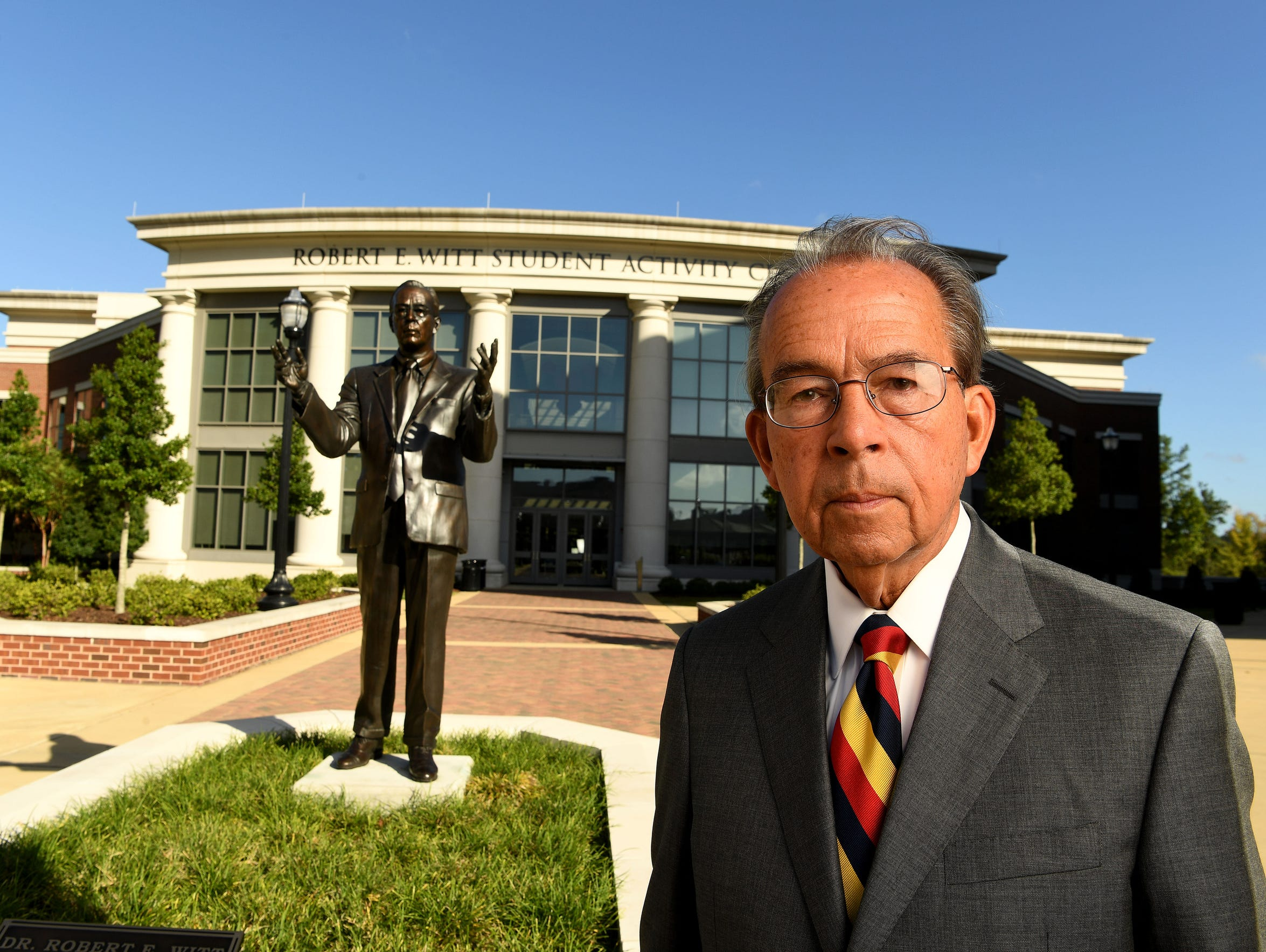 Robert Witt has been immortalized at the University of Alabama, and not just because he helped to hire Nick Saban in 2007.