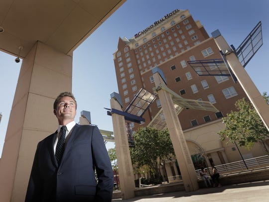 The renovation of the Camino Real Hotel in Downtown