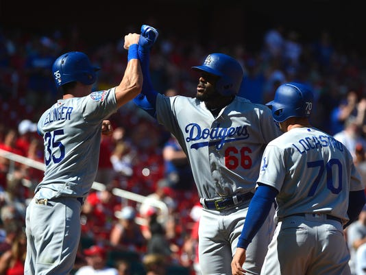 MLB: Los Angeles Dodgers at St. Louis Cardinals