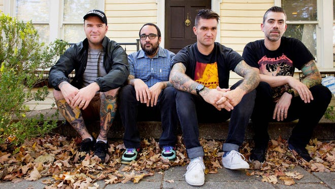 Pop-punk band New Found Glory includes Franklin, Tenn. resident Chad Gilbert (far left), who's also the creator of the new 'Breakfest'