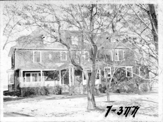 25 Park Avenue, a historical image provided by The Larchmont Historical Society.