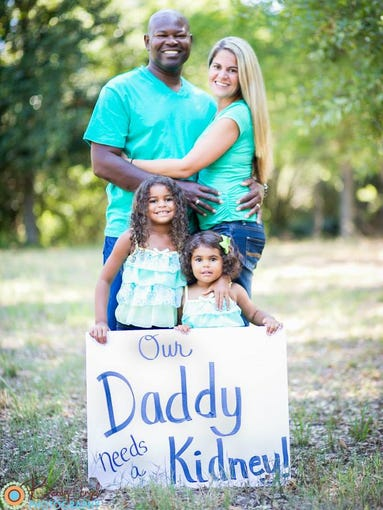 A Georgia family is hoping a viral campaign can help find a father a kidney donor.