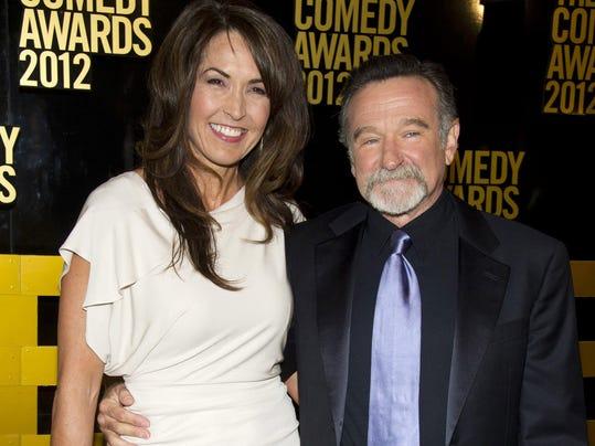 Robin Williams,Susan Schneider