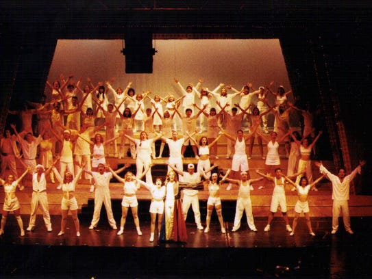 "A 1996 production of ""Joseph and the Amazing Technicolor"