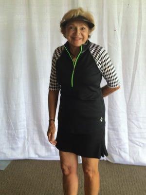 Ella McGaughey is the  Alto Ladies Golf Association Senior Club Champion.