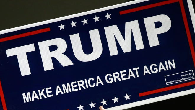 Donald Trump sign