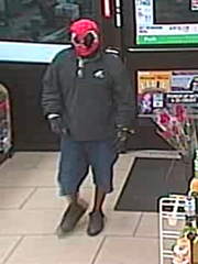 This man robbed a 7-Eleven located at 8100 College