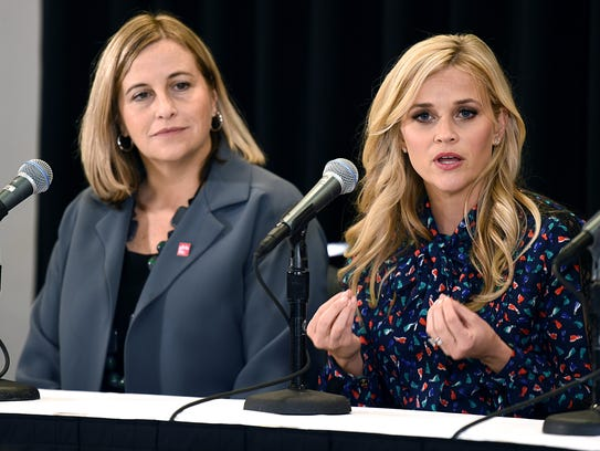 Reese Witherspoon talks about the importance of promoting