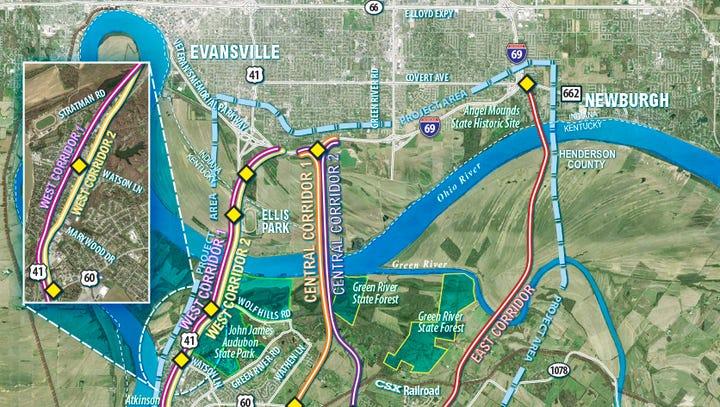 Mussels, wetlands, bats: I-69 bridge report to determine natural resources impact