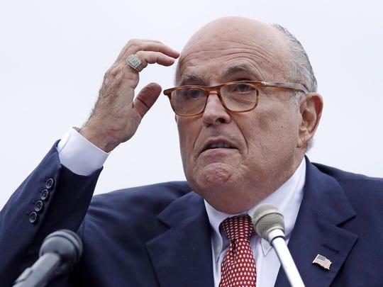 Rudy Giuliani, an attorney for President Donald Trump