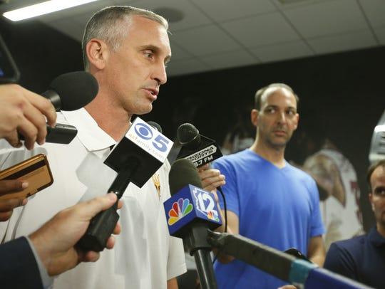 Arizona State Sun Devils head basketball coach Bobby