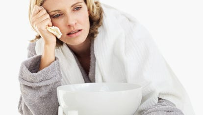 If despite your concerted efforts colds or flu make their way into your home, keeping things clean and sanitized can help prevent other members of the household from getting sick.