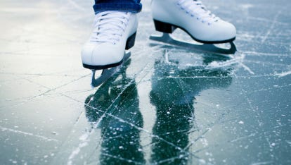 Several area ice rinks will hold open skating this week.