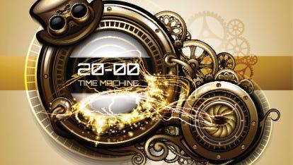 Time machine gadget interface