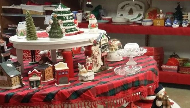 During special hours, United Ministries Holiday Thrift Shop visitors will have access to all of the store's departments: decor, gifts, clothing, crafts, housewares and holiday trimmings.