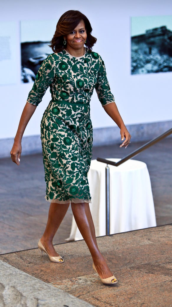 AP MICHELLE OBAMA MET MUSEUM A ENT USA NY