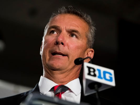 USP NCAA FOOTBALL: BIG TEN FOOTBALL MEDIA DAY S FBC USA IL
