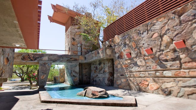 Frank Lloyd Wright's modern design elements are evident at Taliesin West in Scottsdale.