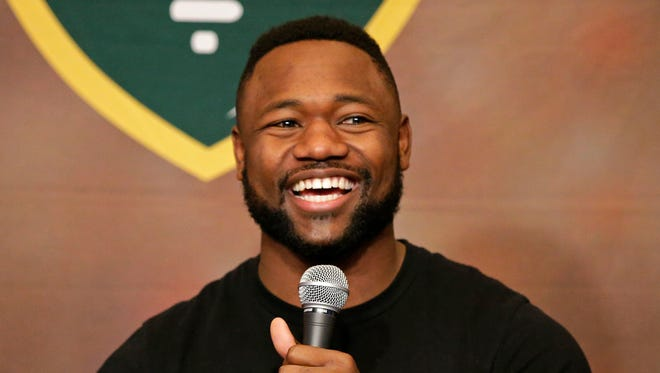 Green Bay Packers wide receiver Ty Montgomery co-hosted Monday's Clubhouse Live in Appleton. Watch a replay at clubhouselive.com.