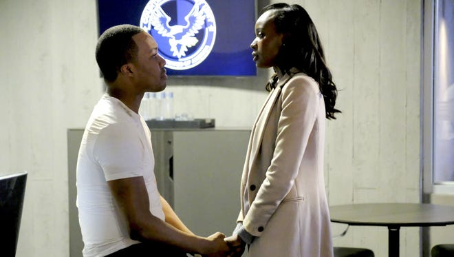 Corey Hawkins and Anna Diop in Fox's '24: Legacy.'