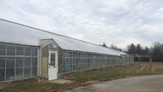 The Richmond Parks & Recreation Department greenhouse on Waterfall Road.