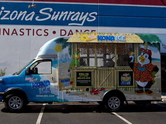 "4/18: Kona Ice's National ""Chill Out"" Day: Kona Ice"