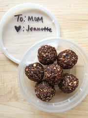 "Make these adorable ""Energy Bites"" for Mom on her day"