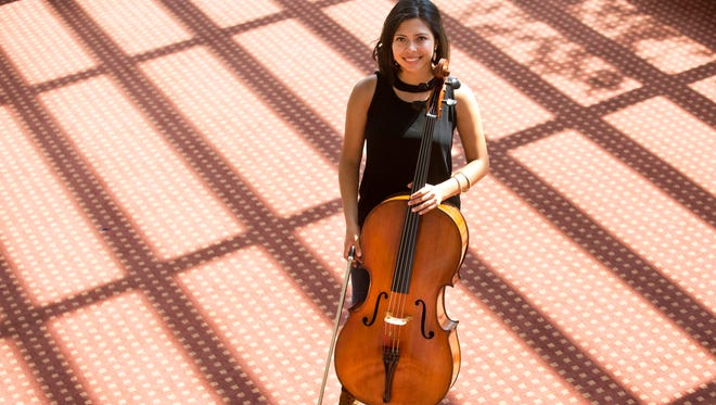 Diana Flores is a diversity fellow this year at the University of Cincinnati's College Conservatory of Music, a program in collaboration with the CSO. She plays the cello. She hopes to join a symphony after she finishes at CCM.