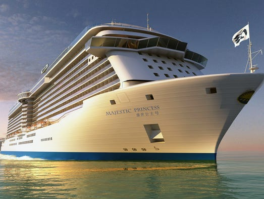 Princess Cruises' next ship will feature both English