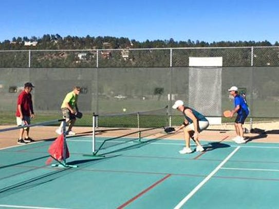 The Ruidoso Pickleball Championships begin at 8 a.m.