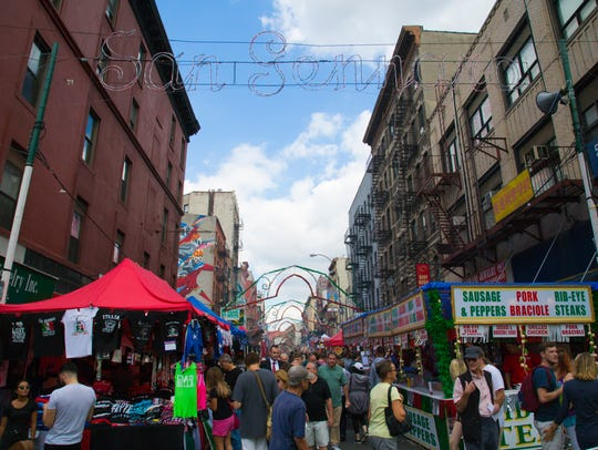 Little Italy's Feast of San Gennaro celebrates its