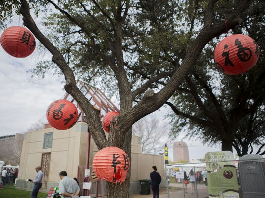 The annual Phoenix Chinese Week Chinese Culture and Cuisine Festival takes place at Margaret T. Hance Park in Phoenix on Sunday, Feb. 18, 2018.